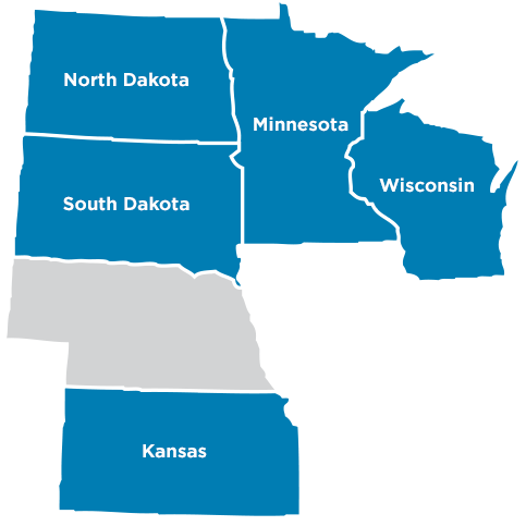 Service Areas Midco Midcontinent Communications