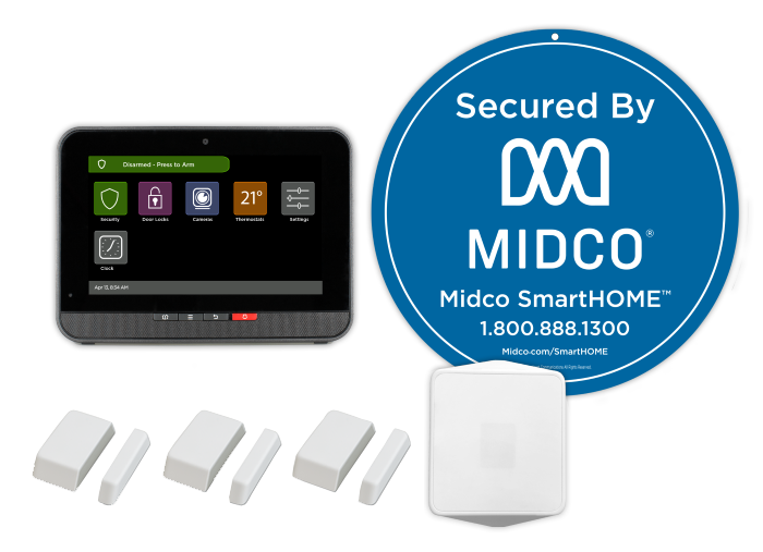 Home Security Equipment | Midco SmartHOME
